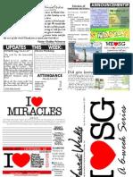 WHM Weekly Newsletter - 13 November 2011