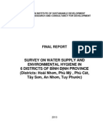 Baseline Study on Water Supply and Environmental Hygiene in 6 Districts of Binh Dinh Province_EN