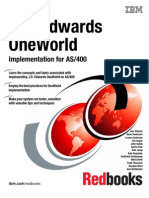J.D. Edwards OneWorld Implementation for AS400 (Sg245195)