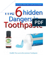 Hidden Dangers in Toothpaste