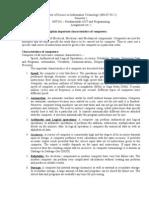 Assignment -1 MIT101