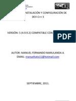 MANUAL DE INSTALACIÓN Y CONFIGURACIÓN DE DEV-cpp
