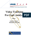 Video Tracking fot Gait Analysis