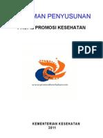 Rancangan Lap Profil Pusat Promkes