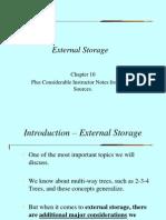 Chapter 10 - External Storage - Part 2