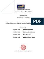IB Term Paper
