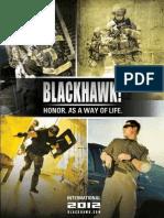 2012 BlackHawk Tactical Catalog