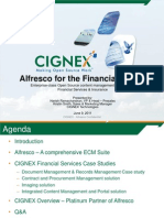 Alfresco for Finance Sector