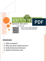 Android Security Ppt
