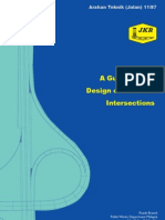 Arahan Teknik (Jalan) 11-87 - A Guide to the Design of at Grade Intersections