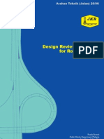 Arahan Teknik (Jalan) 20-98 - Design Review Checklist for Road Projects
