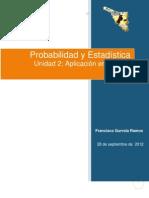 Probabilidad y Estadistica (Word)