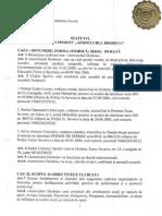 Statutul Clubului Sportiv Aeroclubul Drobeta
