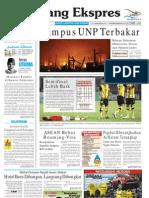Koran Padang Ekspres | Jumat, 18 November 2011.