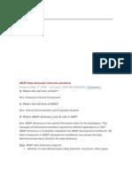 FAQ IN ABAP[1]