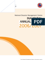 National Disaster Management Centre Annual Report_complete 0607