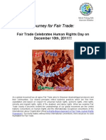 Fair Trade Celebrates Human Rights Day on December 10th, 2011