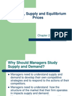 Chapter 2 - Demand, Supply and Equilibrium
