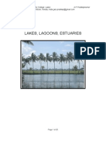 31074257 Lakes Lagoons Estuaries Kayal Backwaters