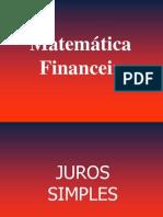 AULA MATEMÁTICA FINANCEIRA1