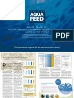 Marine based protein hydrolysate improve the performance of feeds containing a low level of fish meal