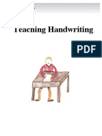 Handwriting in English Language