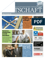 Die Wirtschaft 18. November 2011