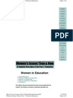 Education on Women