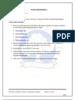 C-L Lab Manual
