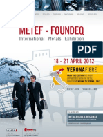 Metef-Foundeq 2012 Brochure (English)