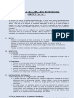 Plan de Organizacion Estudiantil 2011