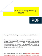 Exploring the WCF Programming Model