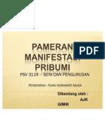 PAMERAN Manifestasi Pribumi Ajk Gimik