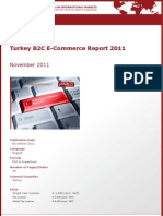 Brochure & Order Form_Turkey B2C E-Commerce Report 2011