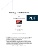 Sociology of the Anarchist