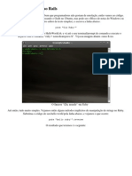 Mini Curso Ruby on Rails