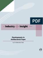 Antibacterial Paper