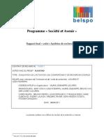 Evaluation de L'Activation Du Comportement de Recherche D'Emploi 2011