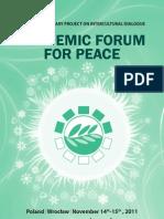 Biuletyn Academic Forum for Peace