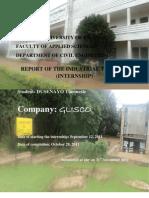 Internship Report _ Dusenayo Theoneste _ Nur_fas_ce_level 5