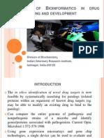 Drug Designing, Development and Bioinformatics