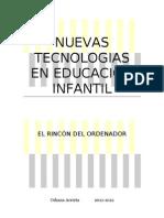NUEVAS TECNOLOGIAS EN EDUCACIÓN INFANTIL
