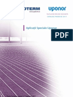 Aplicatii Speciale Uponor - UPOTERM