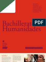 BACHILLERATO EN HUMANIDADES 2012 - UAH