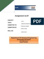 Ammonium Nitrate Production