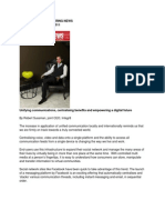 Unifying Communcations - Engineering News_06 Sep 2011