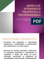 Modelo de intervenção terapêutica e psicopedagógica