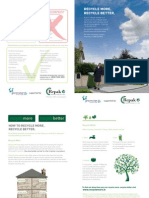 Greenstar Joint Recycling Leaflet