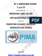 199 Questions-fcps Part 1 Medicine Paper.pdf 16 November 2011-By Pima