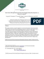 Innovation through international food suppy chain development A research agenda